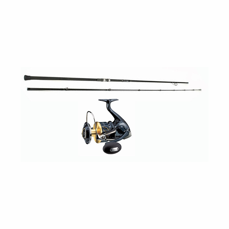 Shimano stella swb reel century sling shot combo for Surf fishing rods and reel combos