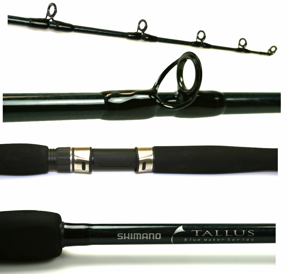 Shimano tallus blue water conventional rods tackledirect for Saltwater fishing rods