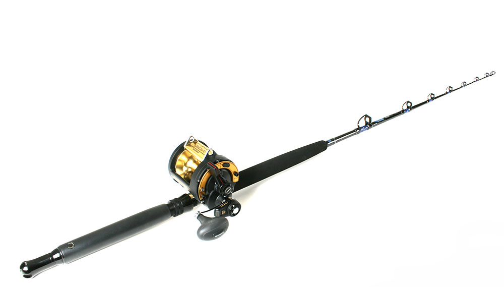 Shimano tld30iia reel tackledirect tdssut601mhsb custom for Trolls fishing pole