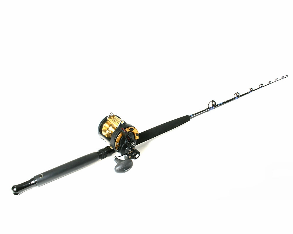 Shimano tld 25 triton reel ande rod troll combo for Trolls fishing pole