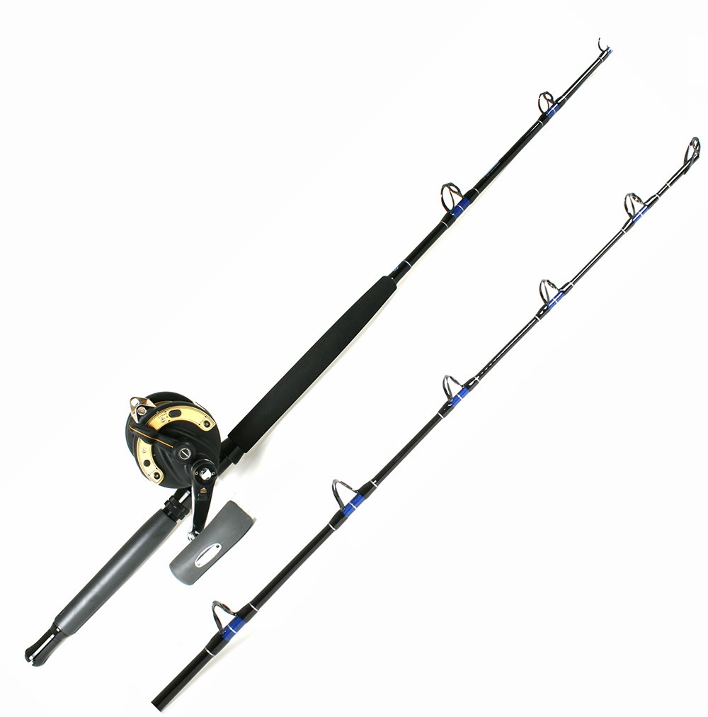 Shimano tld50iilrsa reel td rod conventional combo for Saltwater fishing rods