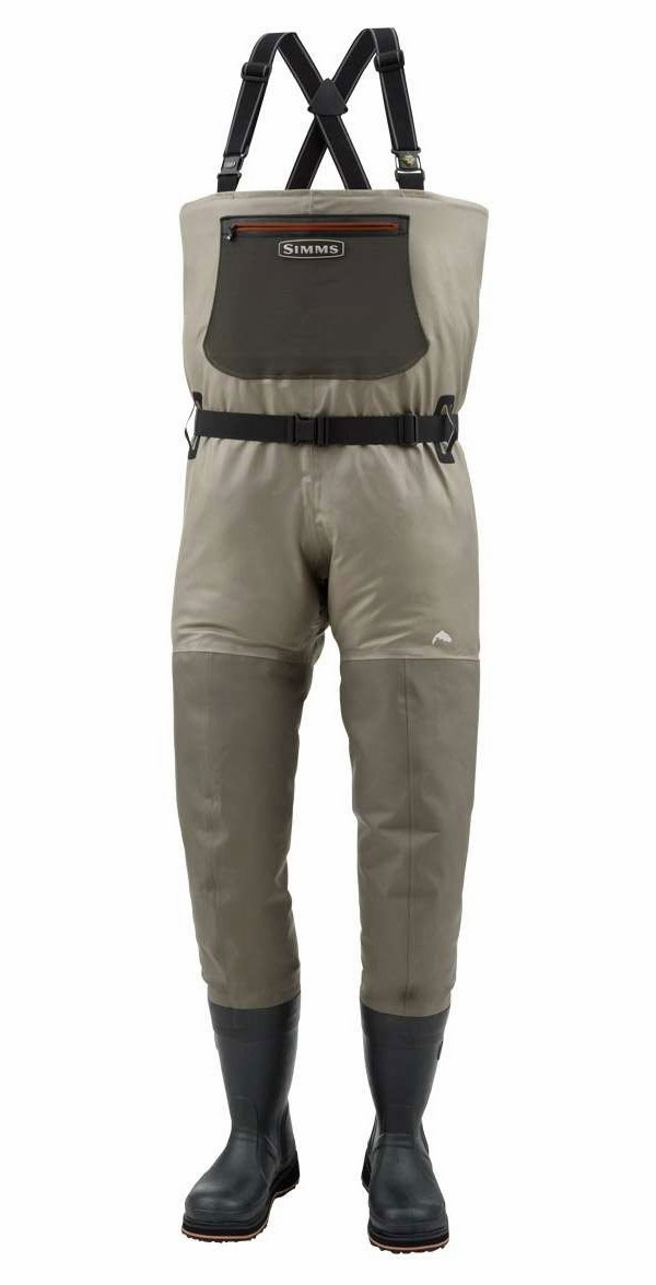 Simms g3 guide bootfoot waders lug sole tackledirect for Men s fishing waders