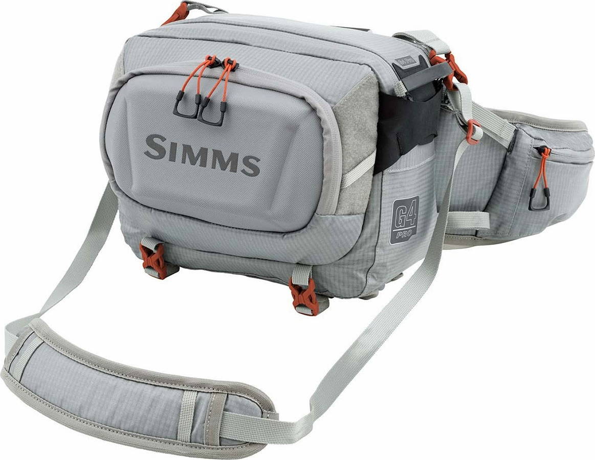 Simms g4 pro hip pack tackledirect for Simms fly fishing