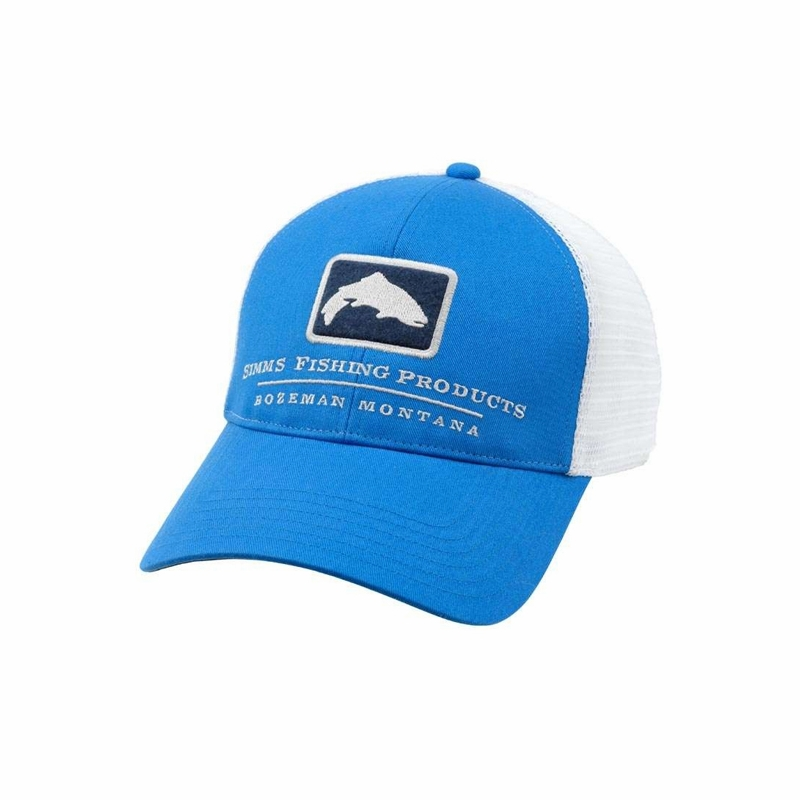 Simms hm tr08 trout trucker hats tackledirect for Womens fishing hat