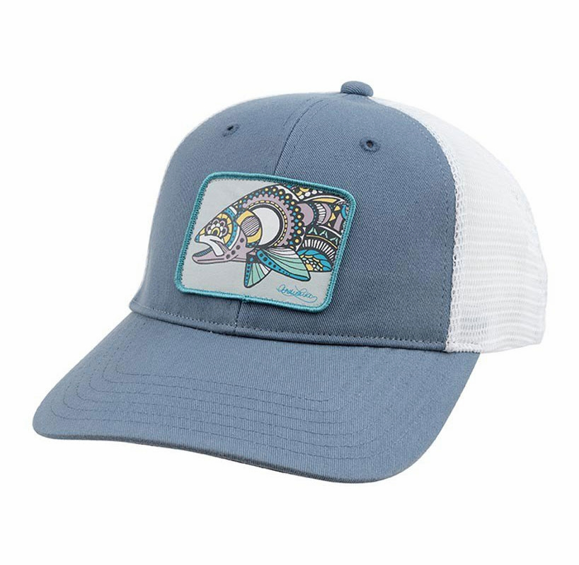 Simms pg 10836 women 39 s artist series trucker hat for Simms fishing hat