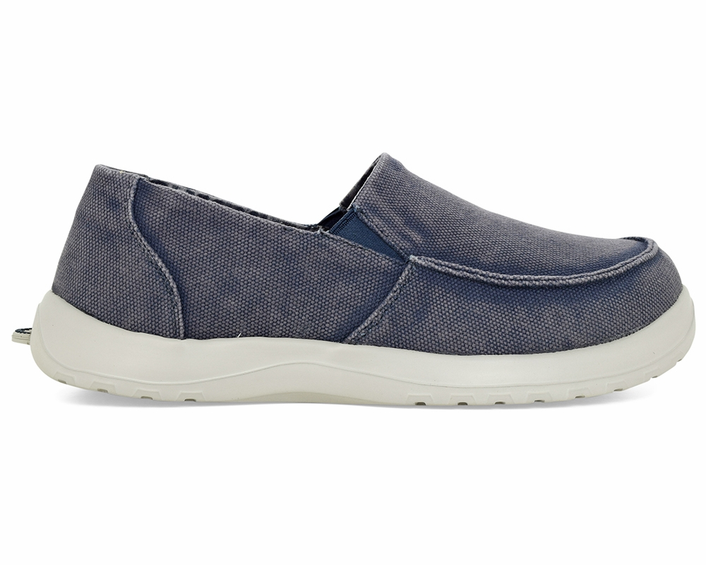 SoftScience Menu0026#39;s Durango Canvas Slip-On Shoes | TackleDirect