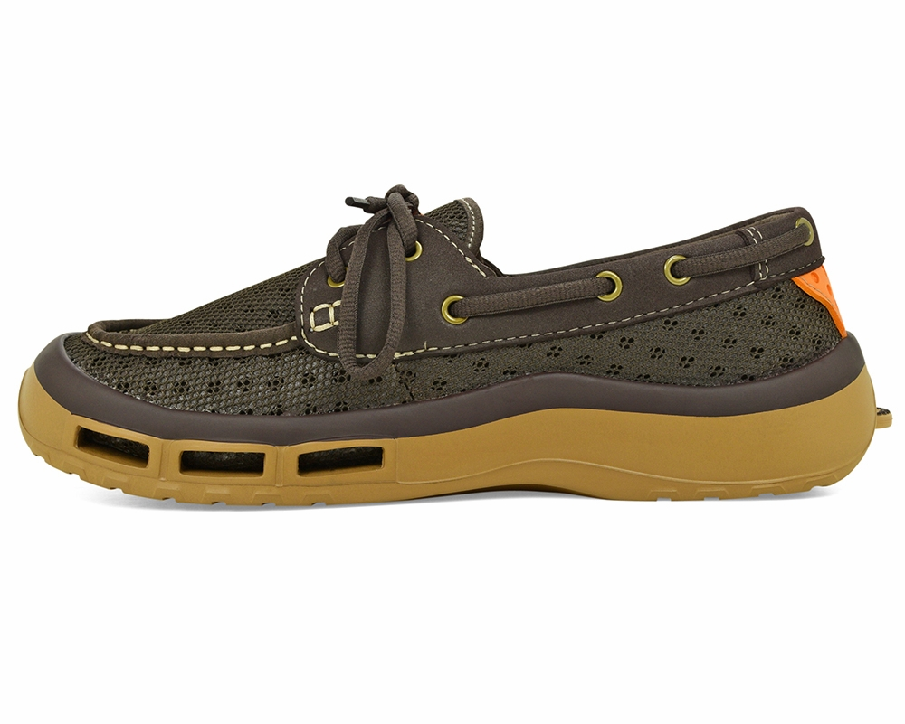 Softscience Men 39 S Fin 2 0 Fishing Shoe Brown Tackledirect
