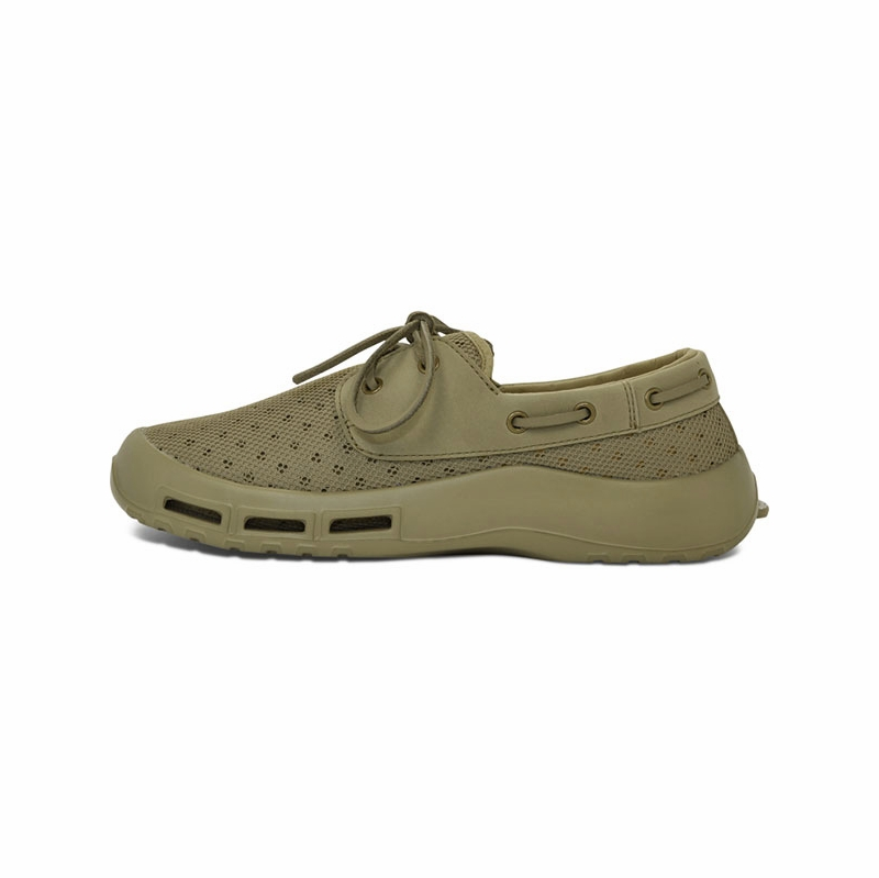 Softscience Men 39 S Fin Fishing Shoes Khaki Tackledirect