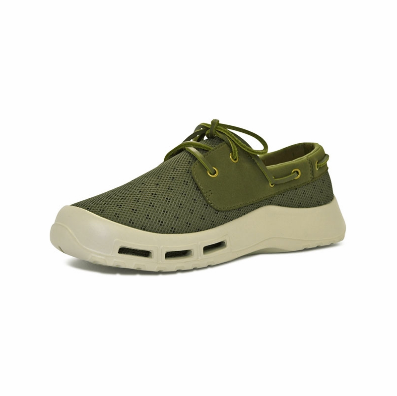 softscience men 39 s fin fishing shoes sage green