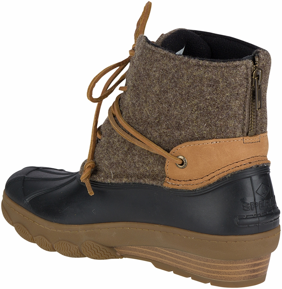 91ea4795620e Sperry Women s Saltwater Wedge Tide Wool Boots