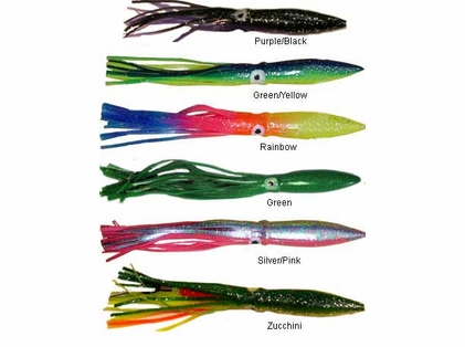 Sportfish Products 12RSS 12in Rigged Sport Squid Lures