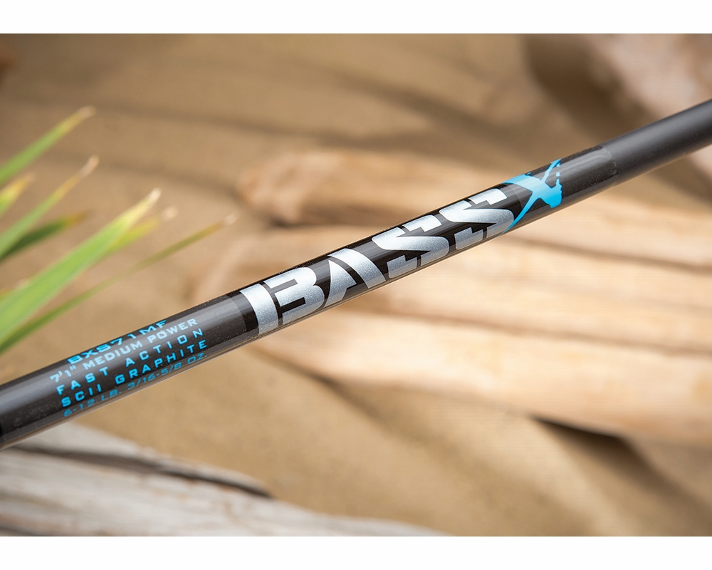 St croix bxc66mhf bass x casting rod tackledirect for Bass fishing poles
