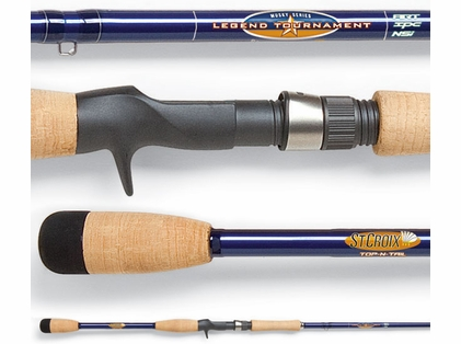 St. Croix LTMU76XHF Legend Tournament Musky Rod