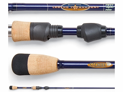 St. Croix LTWS76MLXF2 Legend Tournament Walleye Spinning Rod