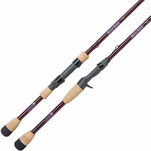 St croix mojo bass freshwater casting spinning rods for Bass fishing poles