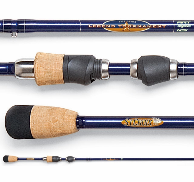 St croix legend tournament bass spinning rods 2012 for Freshwater fishing rods