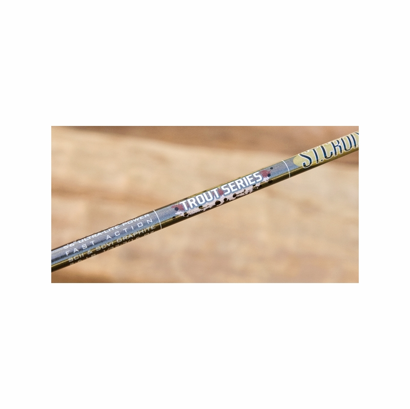 St croix trout series spinning rods tackledirect for St croix fishing poles