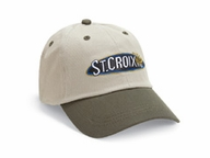 2abe985f91613 St. Croix Two-Tone Twill Logo Adjustable Strap Cap