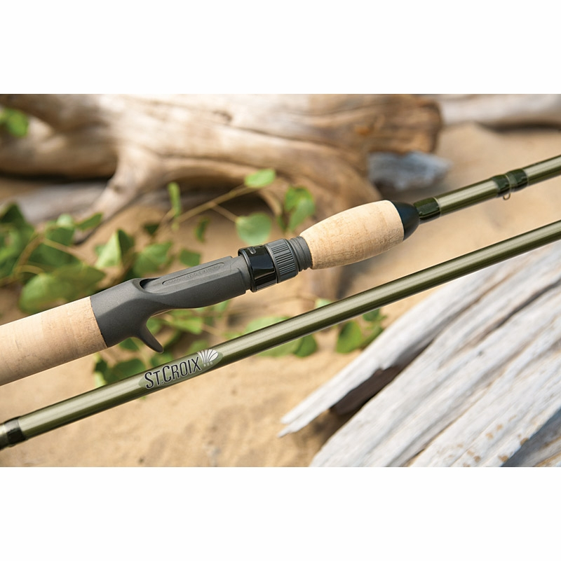 St croix wild river kokanee casting rods tackledirect for Kokanee fishing tackle