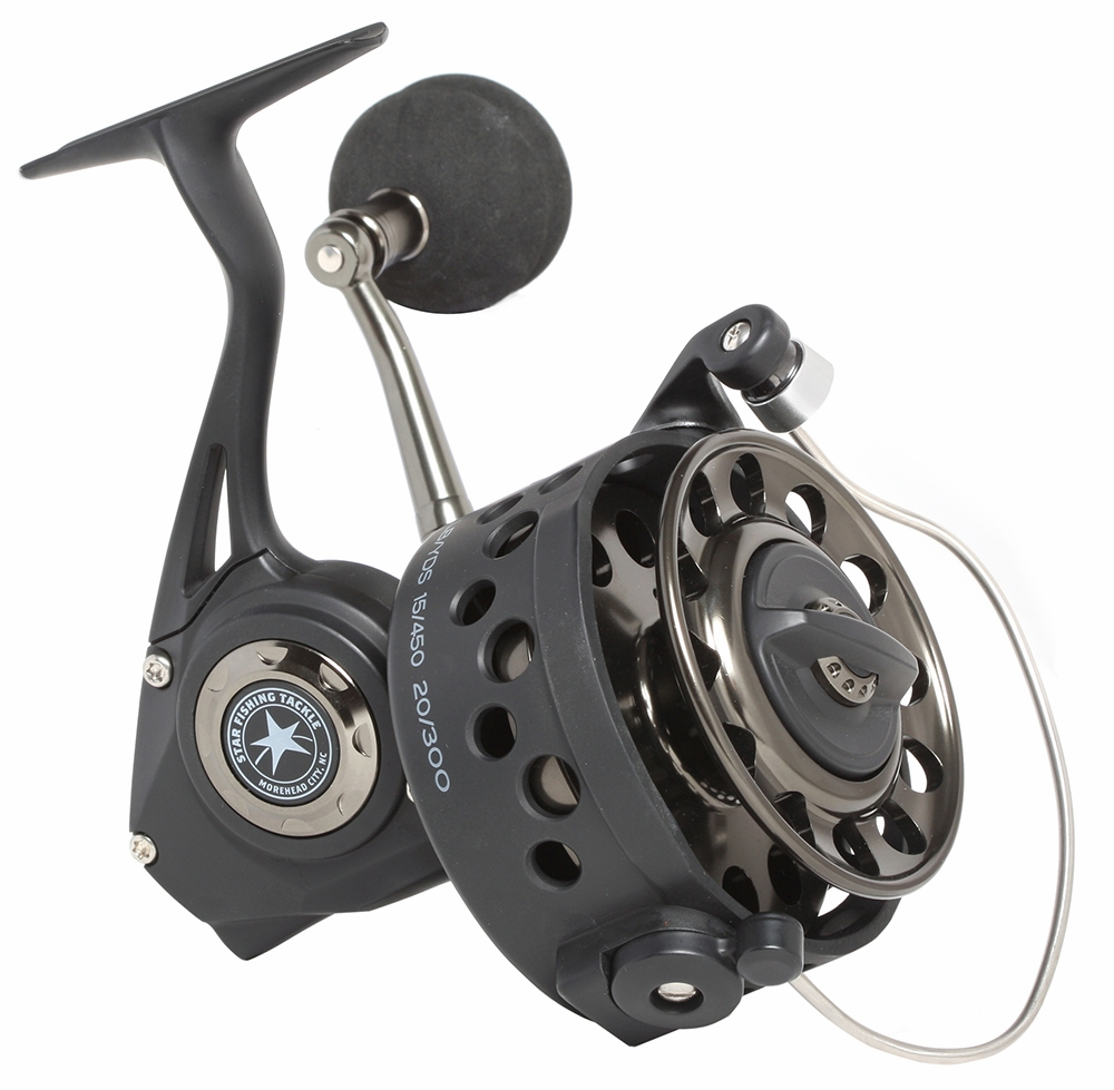 Star rods s series spinning reels tackledirect for Surf fishing reels