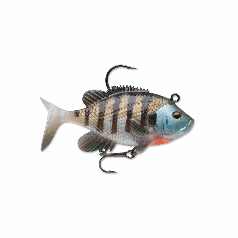 Storm wildeye live bluegill lures for Bluegill fishing tackle