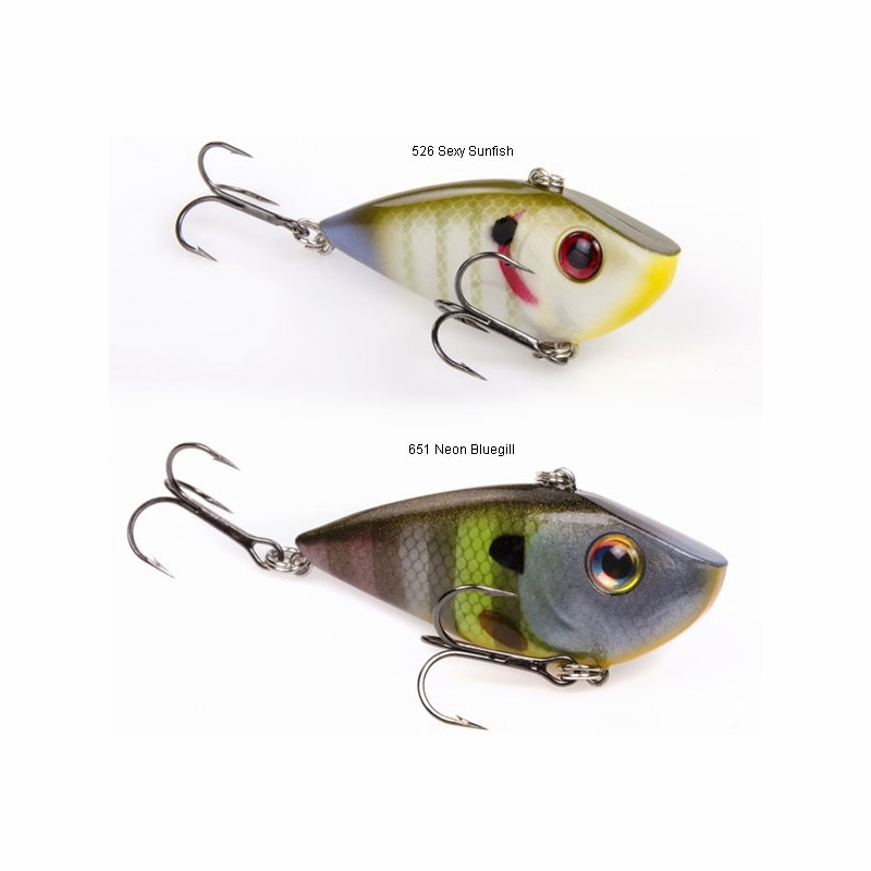 Strike king red eye shad lipless crankbait tackledirect for Shad fishing rigs