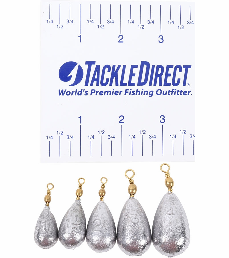 TackleDirect Bell Sinker w/ Swivel