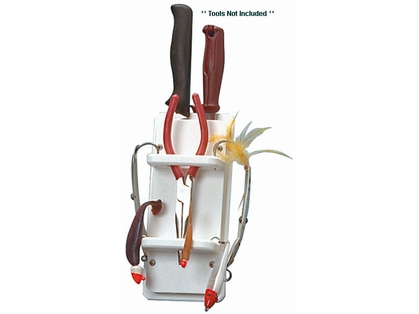 TACO Poly Plier, Knife & 15 Rig Holder - P01-1001W