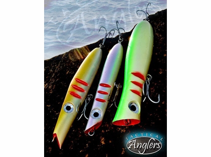 Tactical Anglers BombPOPPER Smart Lures