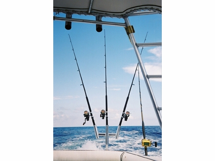 Tigress 88159 Triple Aluminum Kite Rod Holder