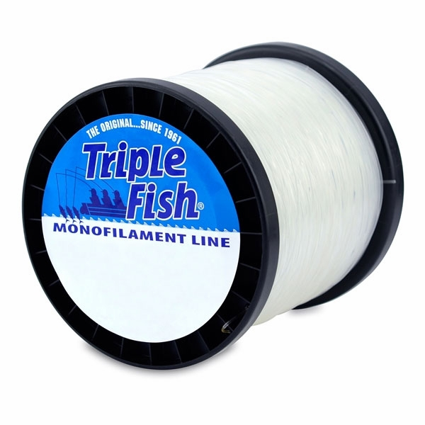Triple fish monofilament line clear tackledirect for Best monofilament fishing line for saltwater