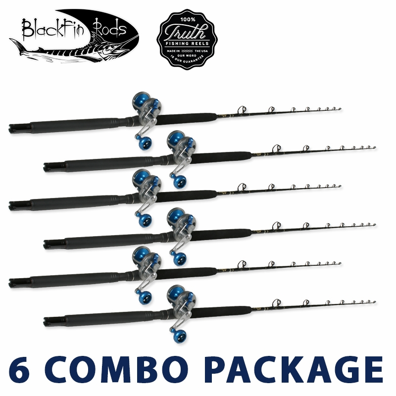 Truth blackfin white marlin rod reel package tackledirect for White fishing rod