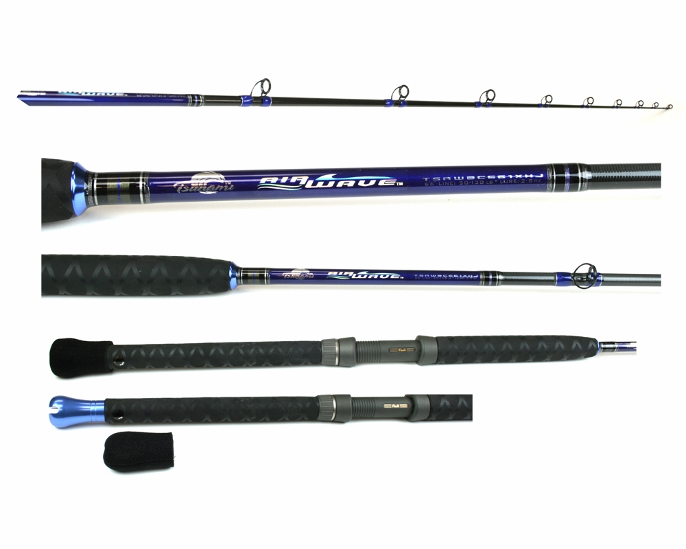 tsunami airwaves boat rods tackledirect