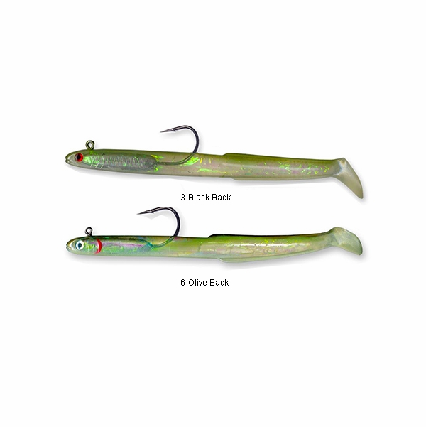 Tsunami holographic sand eel lures tackledirect for Tsunami fishing reels