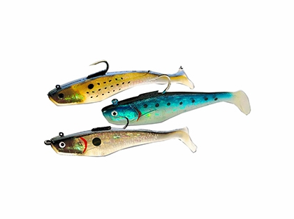 Tsunami soft bait swim shad lures tackledirect for Tsunami fishing reels