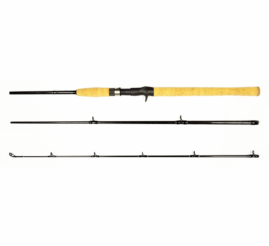 Tsunami tscc 703h travel kayak inshore rods tackledirect for Tsunami fishing reels