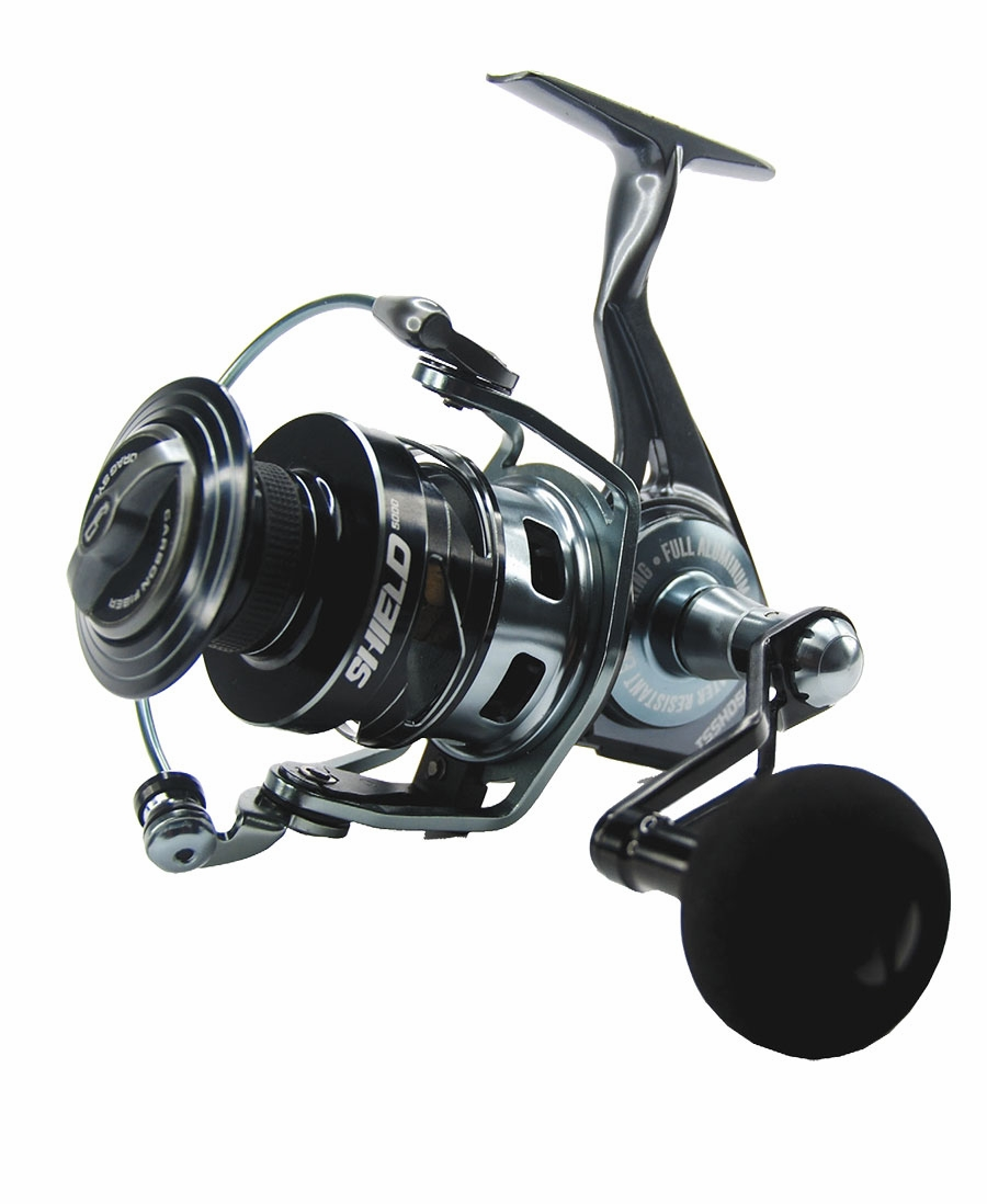 tsunami tsshd5000 shield spinning reel tackledirect