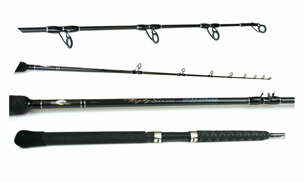 Tsunami tstbc j601xh trophy jigging rod tackledirect for Tsunami fishing reels