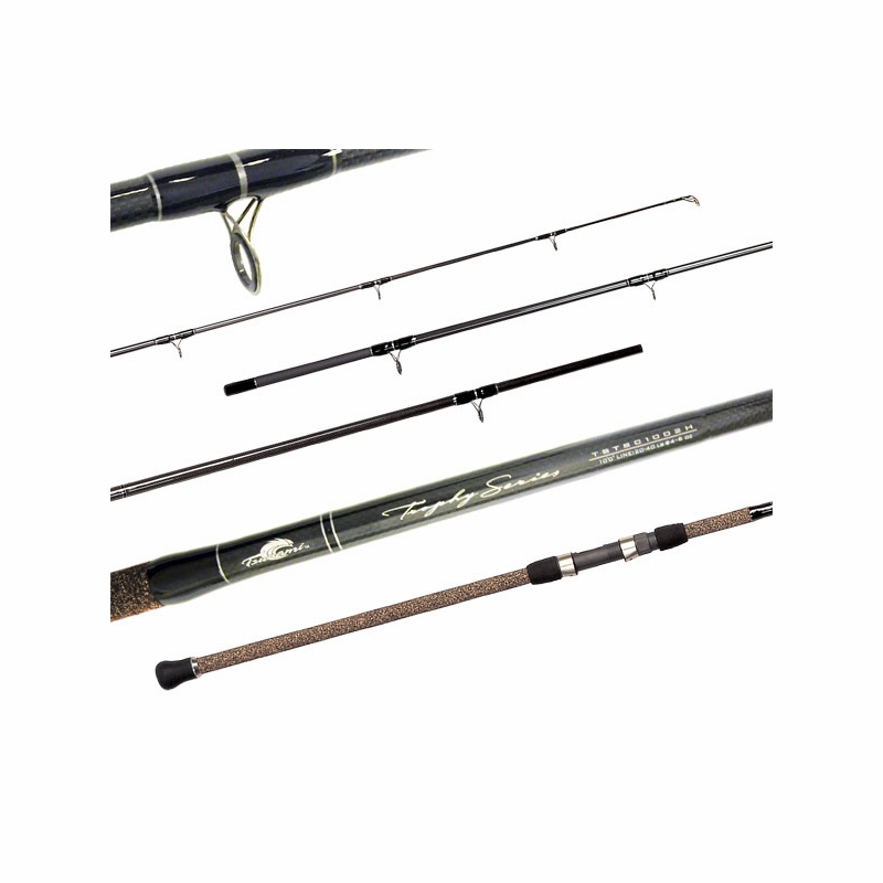 Tsunami tstsc 1202xh trophy surf casting rod tackledirect for Tsunami fishing reels