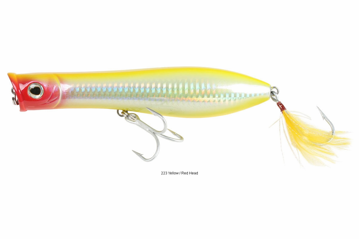 Tsunami xd talkin 39 popper lures for Saltwater fishing lures