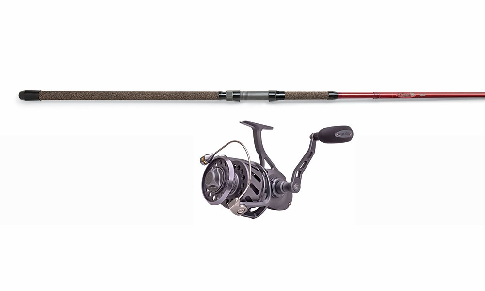 Van staal vm275 spin reel st croix avid rod combo for Surf fishing rods and reel combos