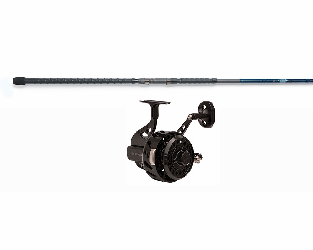 Van staal vs x spin reel st croix legend surf combo for Surf fishing rods and reel combos