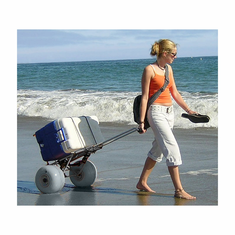 Wheeleez folding beach cart wz1 bcf for Folding fishing cart