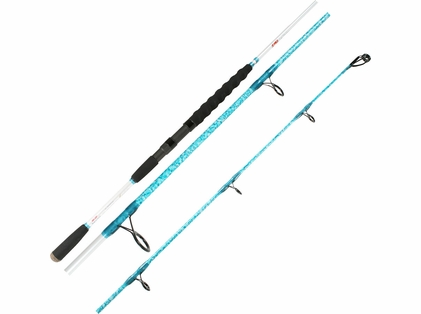 Wright & McGill Blair Wiggins Flats Blue S-Curve Offshore Rods