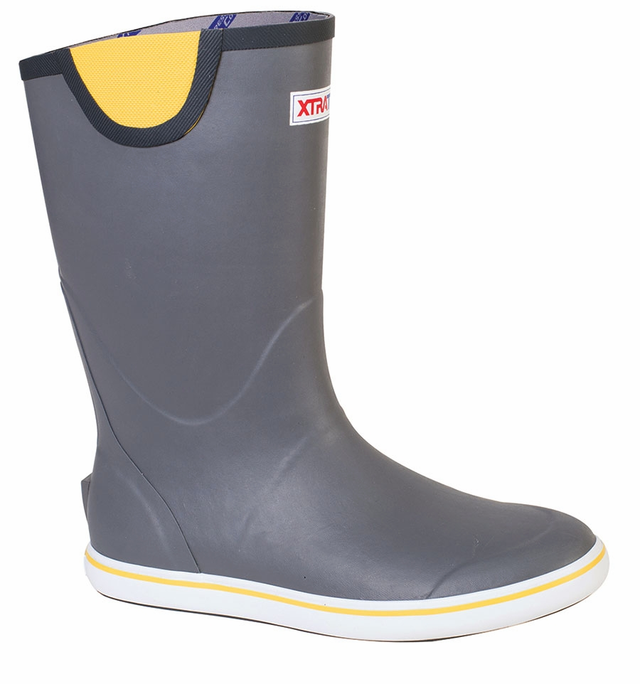 Xtratuf full rubber deck boots tackledirect for Fishing deck boots