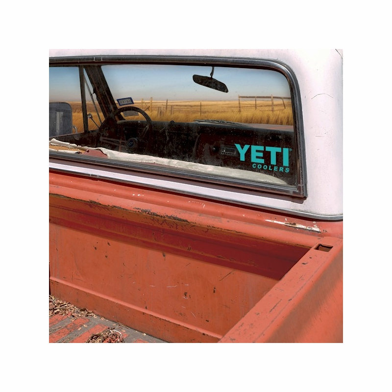 Yeti window decal
