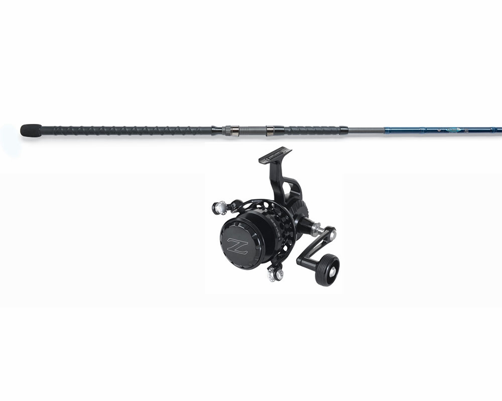 Zeebaas reel bl st croix legend surf rod surf combo for Surf fishing rod and reel