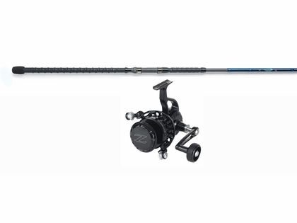 ZeeBaas ZX27RD Reel Black - St. Croix 12ft Legend Surf  Rod Surf Fishing Combo