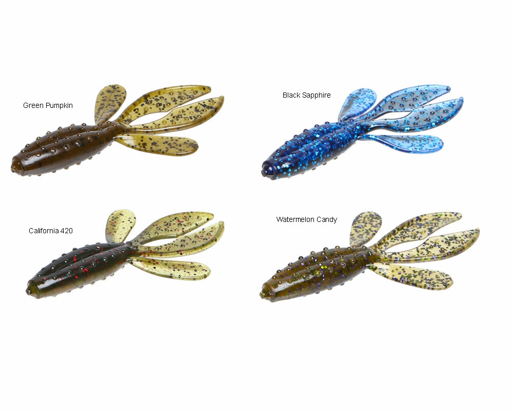 zoom fishing lures
