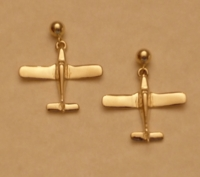 14K Gold Piper Style Earrings